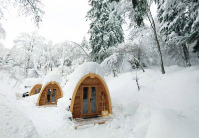 Eco POD hotel in Svizzera: idea di viaggio per un week end romantico