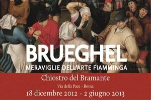 """Chiostro del Bramante di Roma la mostra """"Brueghel"""