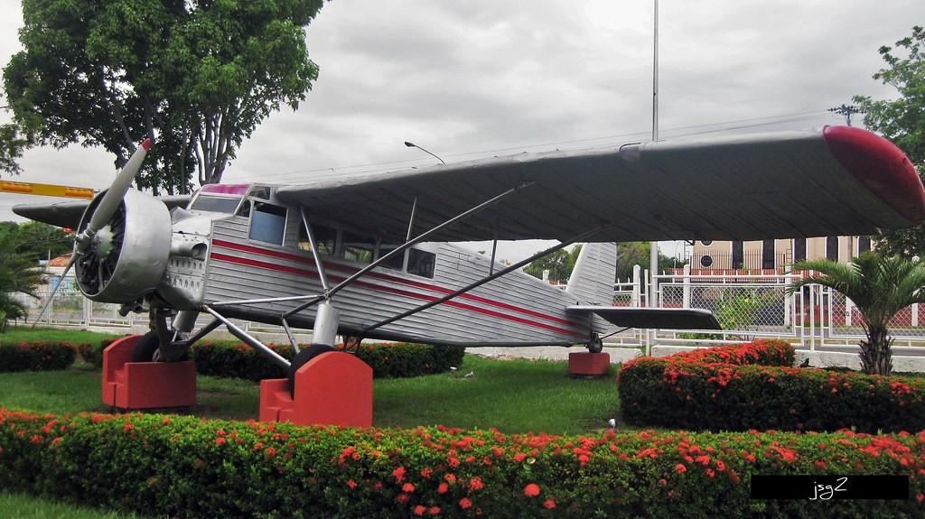 Salto Angel -  Il velivolo con cui Jimmi Angel raggiunse la vetta della cascata